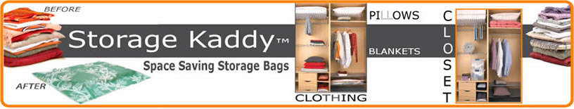 StorageKaddy Space Saver Vacuum Bags
